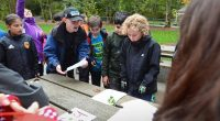 The grade 6 and 7 students went to Barnet Marine Park on October 5th to cleanup the park. Check the the Burnaby Now Newspaper to see the article!