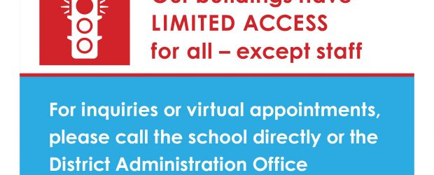 In order to assisst with physical distancing, our school is currently closed for public access. For enquiries, please call the school directly at 604-296-9037 and leave a message. Thank you […]