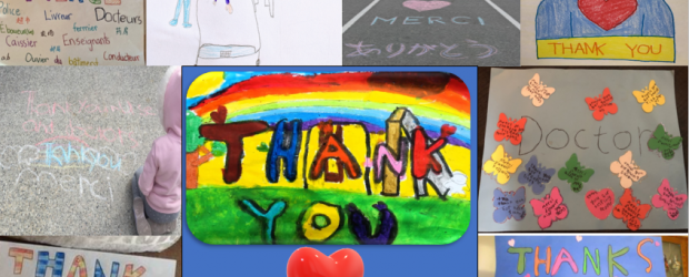 Thank you Westridge students for all your submissions thanking our first responders.